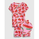 Kids Watermelon Short PJ Set