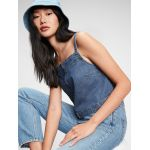 Gap Denim Cropped Tank Top