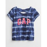 Gapfactory Toddler Bow-Tie Gap Logo Tie-Dye T-Shirt