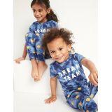 Oldnavy Unisex Matching Graphic Pajama Set for Toddler & Baby