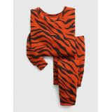 babyGap 100% Organic Cotton Tiger Print PJ Set