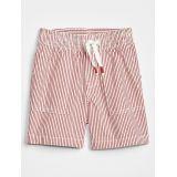 "Toddler 4"" Seersucker Pull-On Shorts"