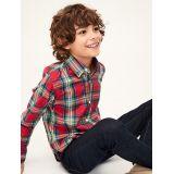 Kids Plaid Long Sleeve Shirt