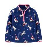 Christmas Unicorn B'gosh Fleece Cozie