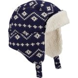 Fair Isle Sherpa Trapper Hat