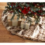 Faux Fur Tree Skirts