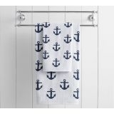 Anchor Jacquard Towels