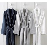 Hotel Piped Trim Bath Robe