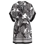 Floral-Print Tunic Cover-Up