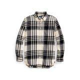 Plaid Cotton Twill Tunic