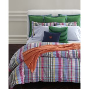 Ralph Lauren Home Summer Hill Plaid Comforter