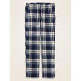 Plaid Flannel Pajama Pants for Men