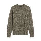 Organic Cotton High Crew-Neck Sweater