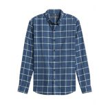 Untucked Slim-Fit Flannel Shirt