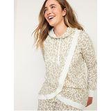 Oldnavy Maternity Vintage Cross-Front Nursing Tunic Hoodie