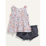 Oldnavy French Terry Sleeveless Top and Bloomers Set for Baby