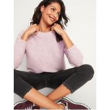 Oldnavy Cozy Oversized Boucle Crew-Neck Sweater for Women